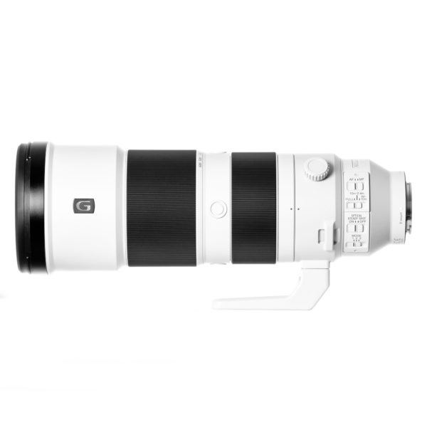 Das Sony FE 200–600 mm F5,6–6,3 G OSS Objektiv mieten ab 9,86 € am Tag.