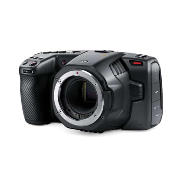 Die Blackmagic 6K Pocket Cinema Camera mit EF-Mount mieten ab 15,71 € am Tag.